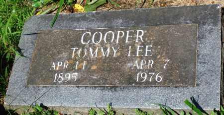 COOPER, TOMMY LEE - Newton County, Arkansas | TOMMY LEE COOPER - Arkansas Gravestone Photos