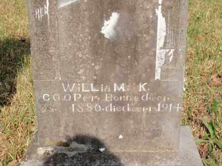 COOPER, WILLIAM K - Newton County, Arkansas | WILLIAM K COOPER - Arkansas Gravestone Photos