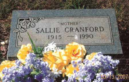 CRANFORD, SALLIE - Newton County, Arkansas | SALLIE CRANFORD - Arkansas Gravestone Photos