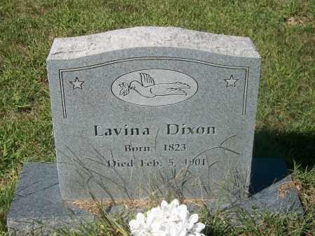 JOHNSON DIXON, LAVINA - Newton County, Arkansas | LAVINA JOHNSON DIXON - Arkansas Gravestone Photos