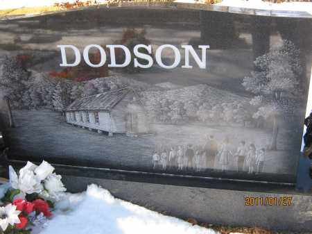 DODSON, CARL (BACK) - Newton County, Arkansas | CARL (BACK) DODSON - Arkansas Gravestone Photos
