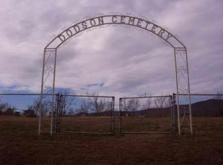 *NEW DODSON CEMETERY ENTRANCE,  - Newton County, Arkansas |  *NEW DODSON CEMETERY ENTRANCE - Arkansas Gravestone Photos