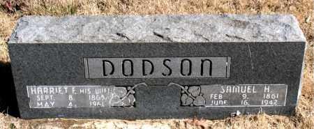 DODSON, SAMUEL H. - Newton County, Arkansas | SAMUEL H. DODSON - Arkansas Gravestone Photos