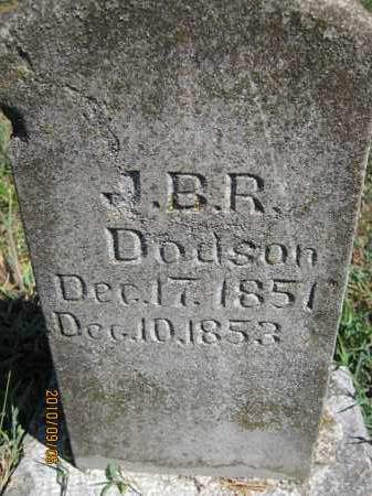 DODSON, J.B.R. - Newton County, Arkansas   J.B.R. DODSON - Arkansas Gravestone Photos