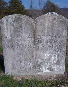 DODSON, BENJAMIN FRANKLIN - Newton County, Arkansas | BENJAMIN FRANKLIN DODSON - Arkansas Gravestone Photos