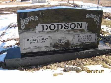 DODSON, LARRY CARL - Newton County, Arkansas   LARRY CARL DODSON - Arkansas Gravestone Photos