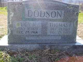 DODSON, LUCY V. - Newton County, Arkansas | LUCY V. DODSON - Arkansas Gravestone Photos