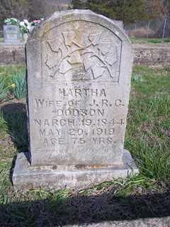 DEAN DODSON, MARTHA - Newton County, Arkansas   MARTHA DEAN DODSON - Arkansas Gravestone Photos