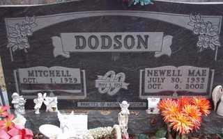 DODSON, NEWELL MAE - Newton County, Arkansas | NEWELL MAE DODSON - Arkansas Gravestone Photos
