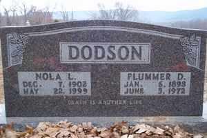 DODSON, NOLA L. - Newton County, Arkansas | NOLA L. DODSON - Arkansas Gravestone Photos