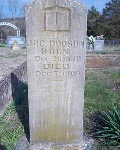 DODSON, JAMES RASBELL CARSON - Newton County, Arkansas   JAMES RASBELL CARSON DODSON - Arkansas Gravestone Photos