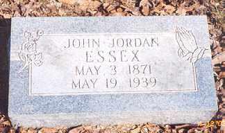ESSEX, JOHN JORDAN - Newton County, Arkansas | JOHN JORDAN ESSEX - Arkansas Gravestone Photos