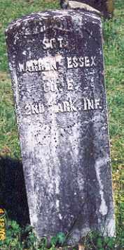 ESSEX (VETERAN UNION), WARREN - Newton County, Arkansas   WARREN ESSEX (VETERAN UNION) - Arkansas Gravestone Photos