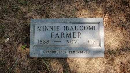 BAUCOM FARMER, MINNIE - Newton County, Arkansas | MINNIE BAUCOM FARMER - Arkansas Gravestone Photos