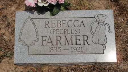 FARMER, REBECCA - Newton County, Arkansas | REBECCA FARMER - Arkansas Gravestone Photos