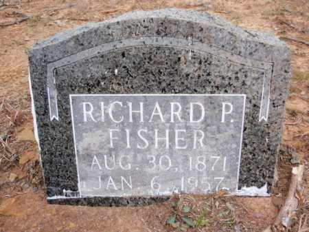 FISHER, RICHARD PALMER - Newton County, Arkansas   RICHARD PALMER FISHER - Arkansas Gravestone Photos