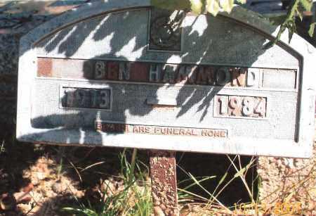 HAMMOND, BEN - Newton County, Arkansas | BEN HAMMOND - Arkansas Gravestone Photos