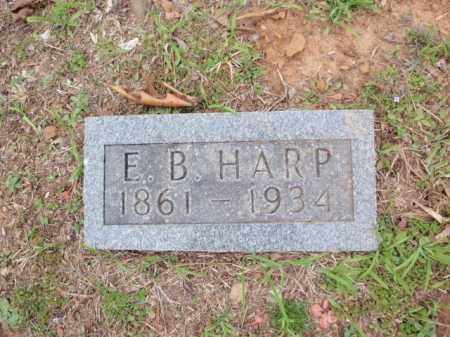 HARP, E.B. - Newton County, Arkansas   E.B. HARP - Arkansas Gravestone Photos