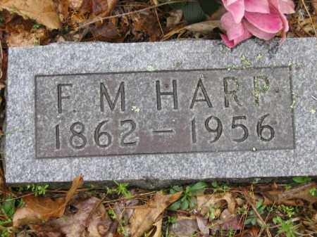 OWENS HARP, FRANCES MARIA - Newton County, Arkansas | FRANCES MARIA OWENS HARP - Arkansas Gravestone Photos