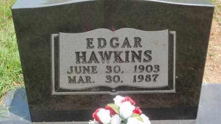 HAWKINS, EDGAR - Newton County, Arkansas | EDGAR HAWKINS - Arkansas Gravestone Photos