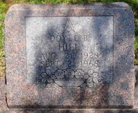 HILL, DOYLE B - Newton County, Arkansas | DOYLE B HILL - Arkansas Gravestone Photos