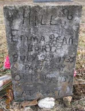 HILL, EMMA JEAN - Newton County, Arkansas | EMMA JEAN HILL - Arkansas Gravestone Photos