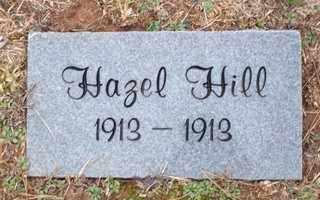 HILL, HAZEL - Newton County, Arkansas   HAZEL HILL - Arkansas Gravestone Photos