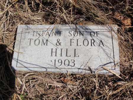 HILL, INFANT SON - Newton County, Arkansas   INFANT SON HILL - Arkansas Gravestone Photos