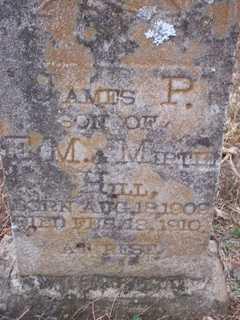HILL, JAMES PRESTON - Newton County, Arkansas | JAMES PRESTON HILL - Arkansas Gravestone Photos