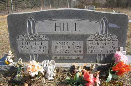 HILL, ANDREW J. - Newton County, Arkansas | ANDREW J. HILL - Arkansas Gravestone Photos
