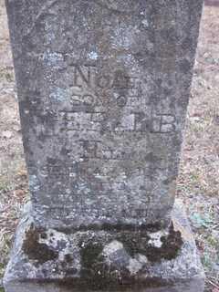 HILL, NOAH - Newton County, Arkansas | NOAH HILL - Arkansas Gravestone Photos