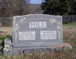 HILL, MARION - Newton County, Arkansas | MARION HILL - Arkansas Gravestone Photos