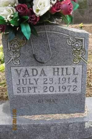 HILL, VADA ROSE ANN - Newton County, Arkansas | VADA ROSE ANN HILL - Arkansas Gravestone Photos