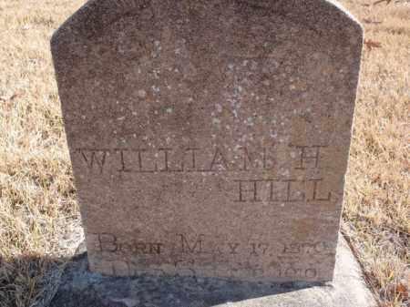 HILL, WILLIAM H. - Newton County, Arkansas | WILLIAM H. HILL - Arkansas Gravestone Photos