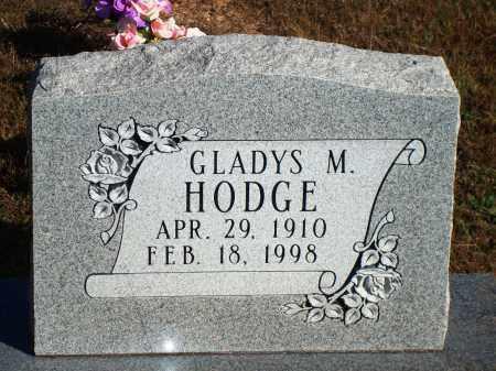 HODGE, GLADYS M. - Newton County, Arkansas   GLADYS M. HODGE - Arkansas Gravestone Photos