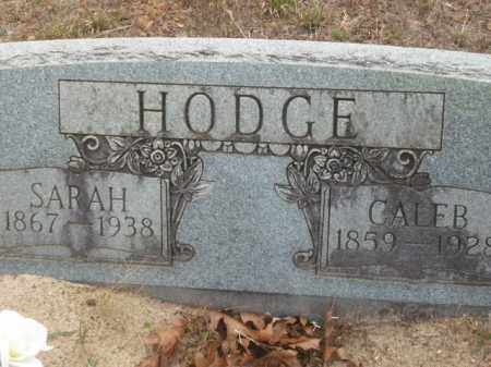 HODGE, CALEB - Newton County, Arkansas | CALEB HODGE - Arkansas Gravestone Photos
