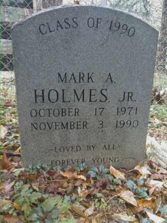 HOLMES, JR, MARK A - Newton County, Arkansas | MARK A HOLMES, JR - Arkansas Gravestone Photos