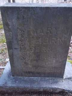HORN, MARY J. - Newton County, Arkansas | MARY J. HORN - Arkansas Gravestone Photos