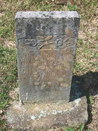 HORNER, MARTHA JANE - Newton County, Arkansas | MARTHA JANE HORNER - Arkansas Gravestone Photos
