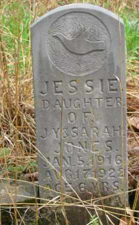 JONES, JESSIE - Newton County, Arkansas   JESSIE JONES - Arkansas Gravestone Photos