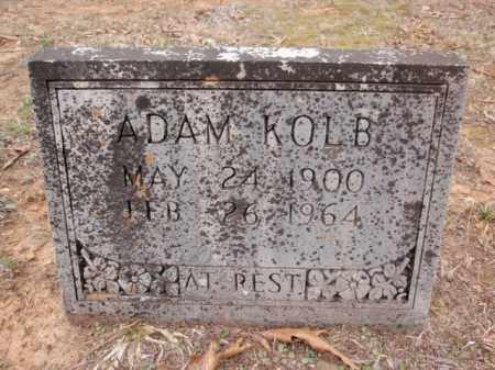 KOLB, ADAM - Newton County, Arkansas | ADAM KOLB - Arkansas Gravestone Photos
