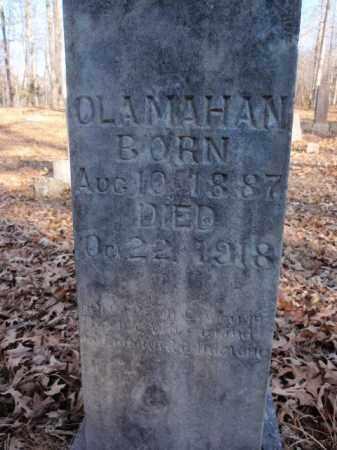 MAHAN, OLA - Newton County, Arkansas   OLA MAHAN - Arkansas Gravestone Photos