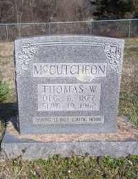 MCCUTCHEON, THOMAS W. - Newton County, Arkansas | THOMAS W. MCCUTCHEON - Arkansas Gravestone Photos