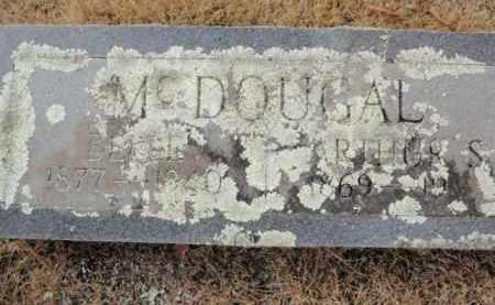 MCDOUGAL, ARTHUR S. - Newton County, Arkansas | ARTHUR S. MCDOUGAL - Arkansas Gravestone Photos