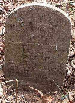 MCDOUGAL, INFANT SON - Newton County, Arkansas   INFANT SON MCDOUGAL - Arkansas Gravestone Photos
