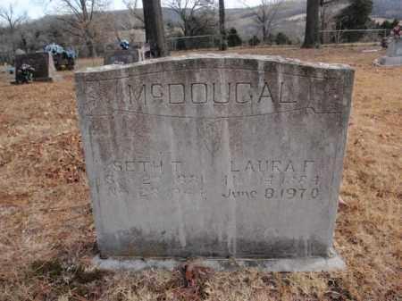 MCDOUGAL, SETH T. - Newton County, Arkansas   SETH T. MCDOUGAL - Arkansas Gravestone Photos