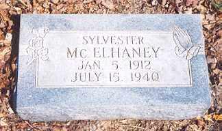 MCELHANEY, SYLVESTER - Newton County, Arkansas | SYLVESTER MCELHANEY - Arkansas Gravestone Photos