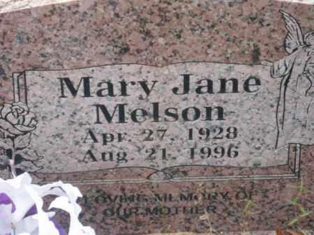 MELSON, MARY JANE - Newton County, Arkansas | MARY JANE MELSON - Arkansas Gravestone Photos