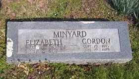 MINYARD, GORDON - Newton County, Arkansas | GORDON MINYARD - Arkansas Gravestone Photos