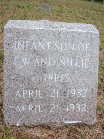 MORRIS, INFANT SON - Newton County, Arkansas | INFANT SON MORRIS - Arkansas Gravestone Photos